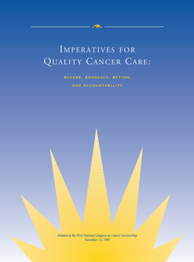 Read the Imperatives for Quality Cancer Care