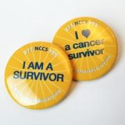 Cancer Buttons-Survivorship