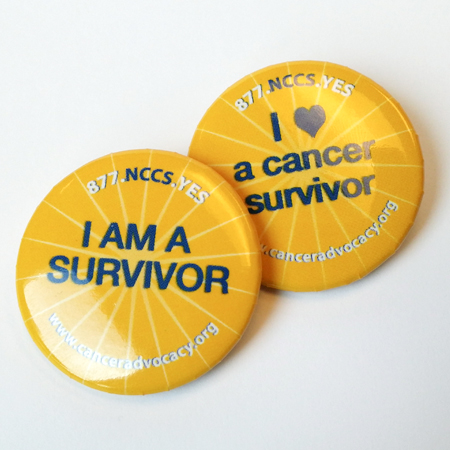 Cancer Buttons-Survivorship