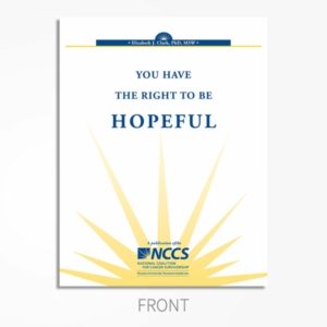 Hopeful-Maintaining hope during cancer treatment.