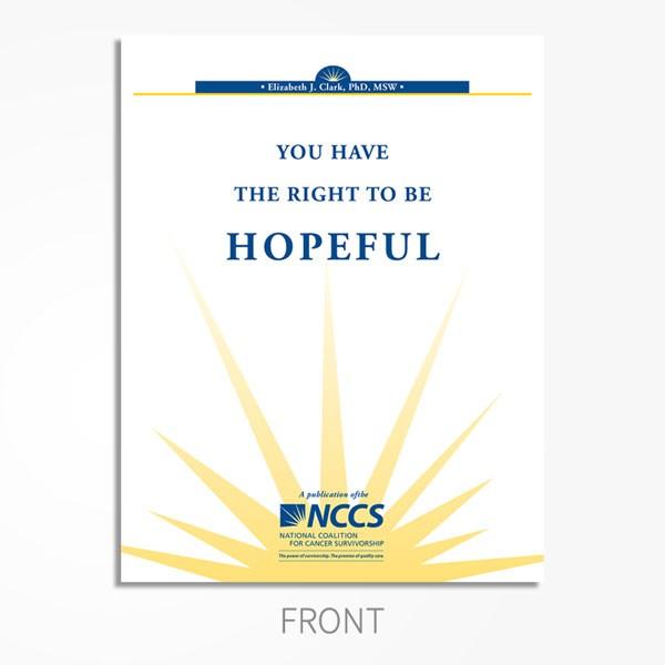 Hopeful-Maintaining hope during cancer treatment.