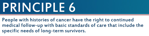 20 Years Later Blog Series: The Imperatives for Quality Cancer Care Principle Six