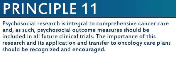 20 Years Later Blog Series: The Imperatives for Quality Cancer Care Principle 11