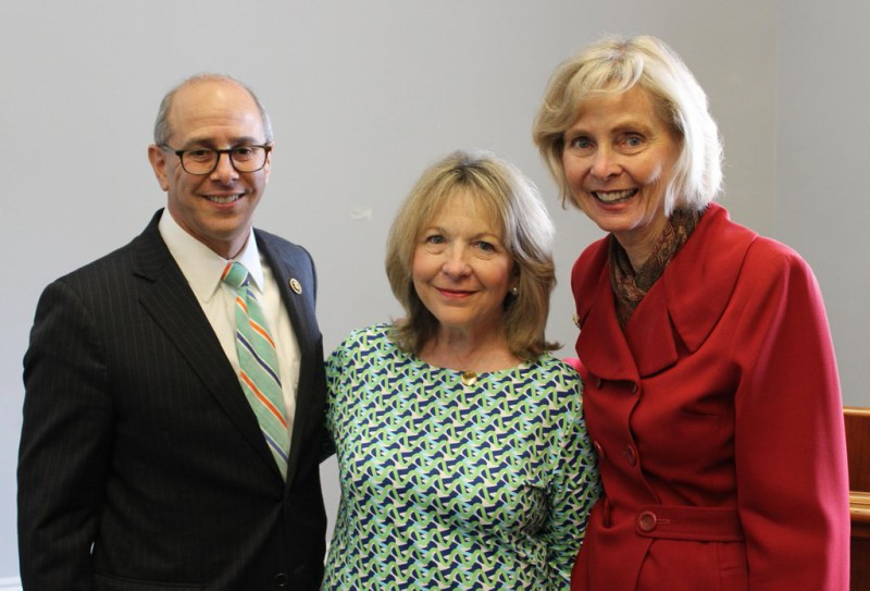 PACT Act Sponsors Reps. Charles Boustany & Lois Capps with Ellen Stovall