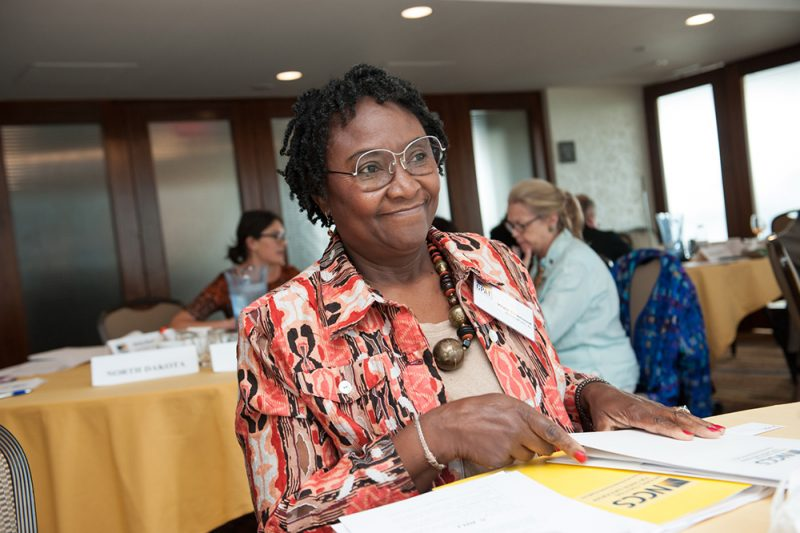 Virgie Townsend at the 2016 CPAT Symposium