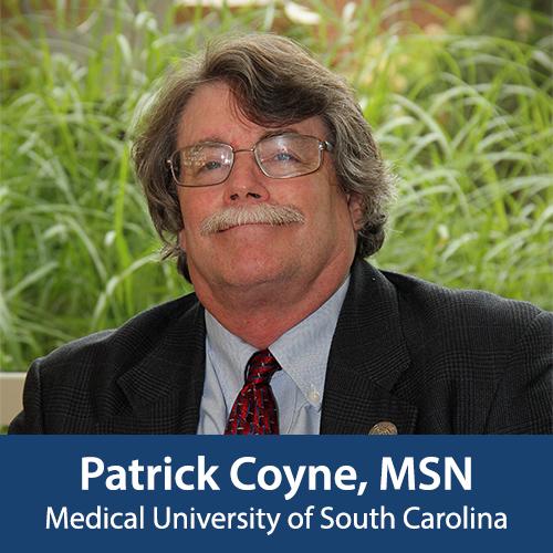 Patrick Coyne, MSN, Stovall Award Honoree