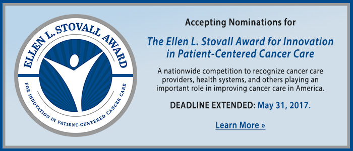 Accepting Nominations for the Stovall Award