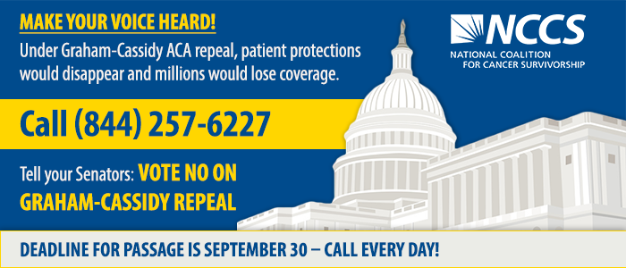Call 844-257-6227 and tell your Senator to reject Graham-Cassidy