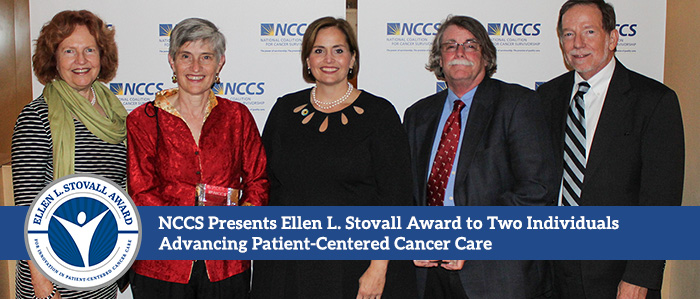 Ellen L. Stovall Award Presented to Pat Coyne and Meg Gaines