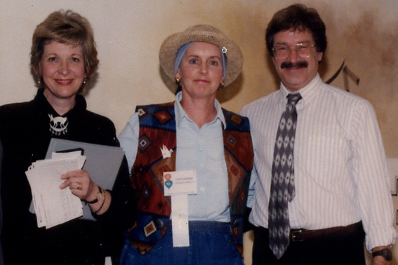Catherine Logan Carrillo, Ellen Stovall, and Richard Klausner