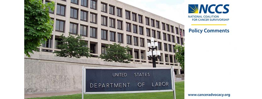 NCCS Policy Comments DOL Labor