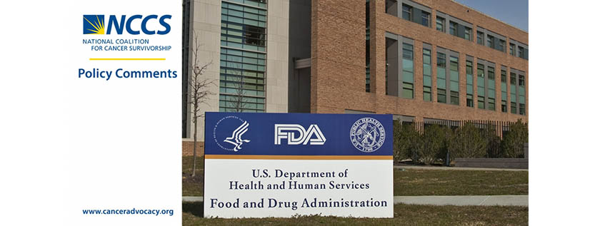 NCCS Policy Comments FDA bldg
