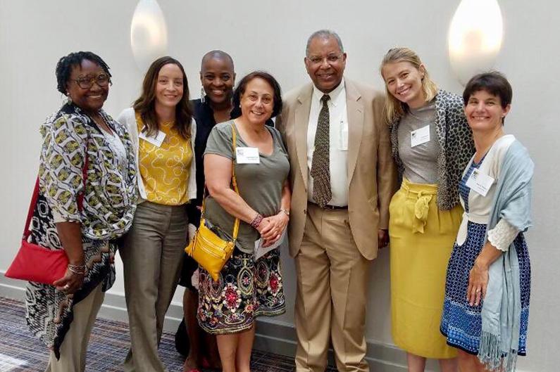 CPAT Symposium attendees with Keynote Speaker Dr. Otis Brawley.