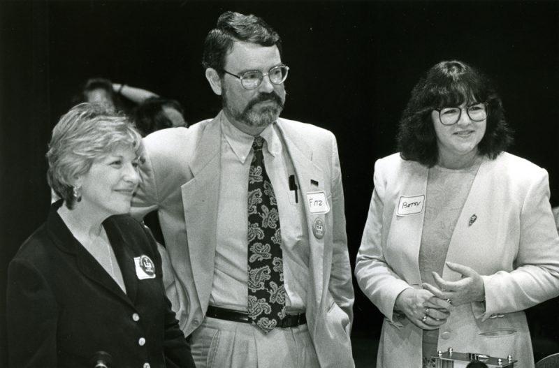 Ellen L. Stovall, Fitzhugh Mullan, and Betsy Clark