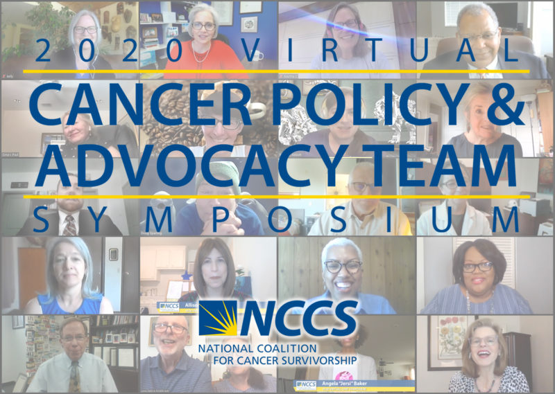 2020 Virtual Cancer Policy and Advocacy Team (CPAT) Symposium, from NCCS