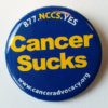 Cancer Sucks Button