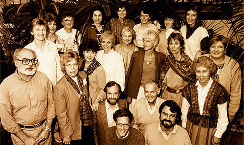 NCCS Founders at Founding Meeting 1986