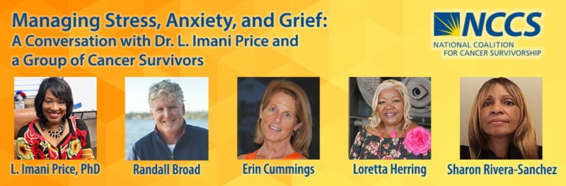Managing Stress, Anxiety and Grief with Dr. L. Imani Price