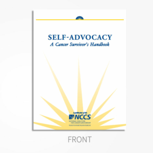 Self Advocacy FRONT