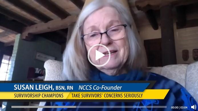 Susie Leigh Survivorship Champions Video